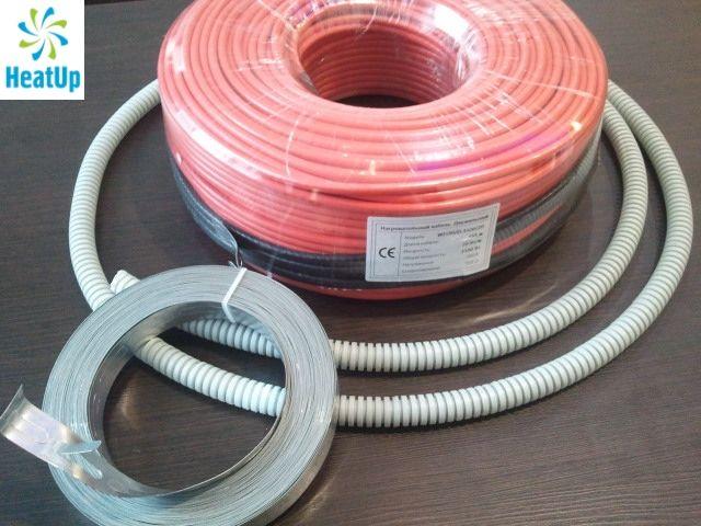Нагревательный электрический кабель HeatUp 200 Вт (длина 10 м)