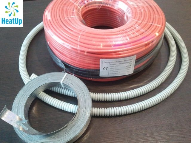 Нагревательный электрический кабель HeatUp 300 Вт (длина 15 м)