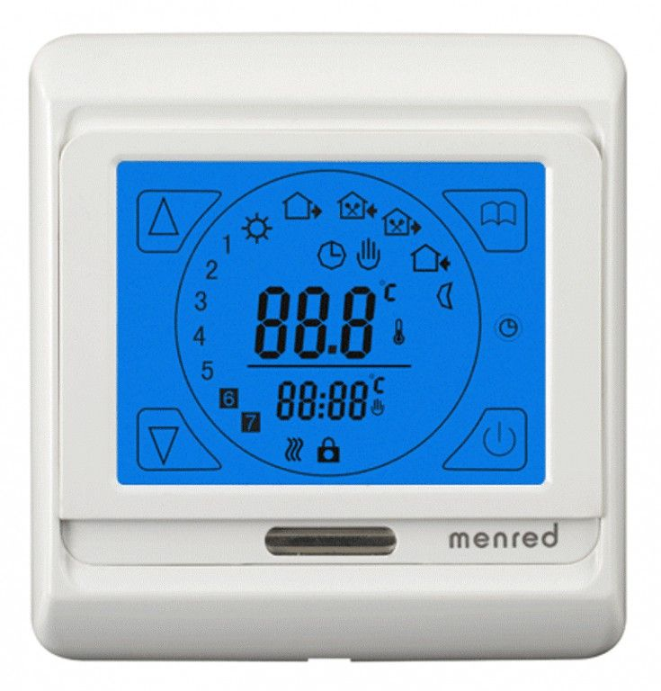 Терморегулятор RTC-91.716 для теплых полов (белый)